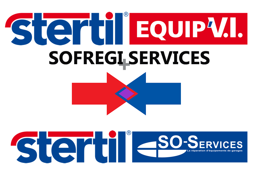 Stertil Equip'VI and SOFREGI SERVICES merge in 2013